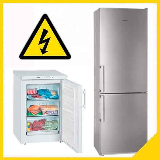 Холодильник выбивает автомат причины
